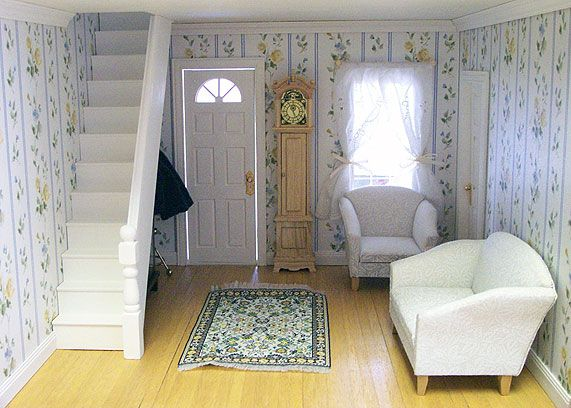 dollhouse rooms | DOLLHOUSES AND MINIATURES - Dollhouse Rooms DOLLHOUSES AND MINIATURES Rooms Pinterest