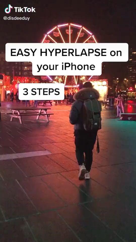 Easy Hyperlapse on iPhone Video Tutorial TikTok – tik tok
