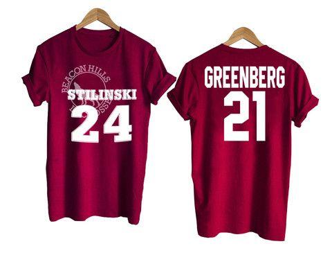 Teen Wolf shirt beacon hills tshirt GREENBERG 21 T shirt #tshirt #shirt #clothing #tee #graphictee #tops and tee
