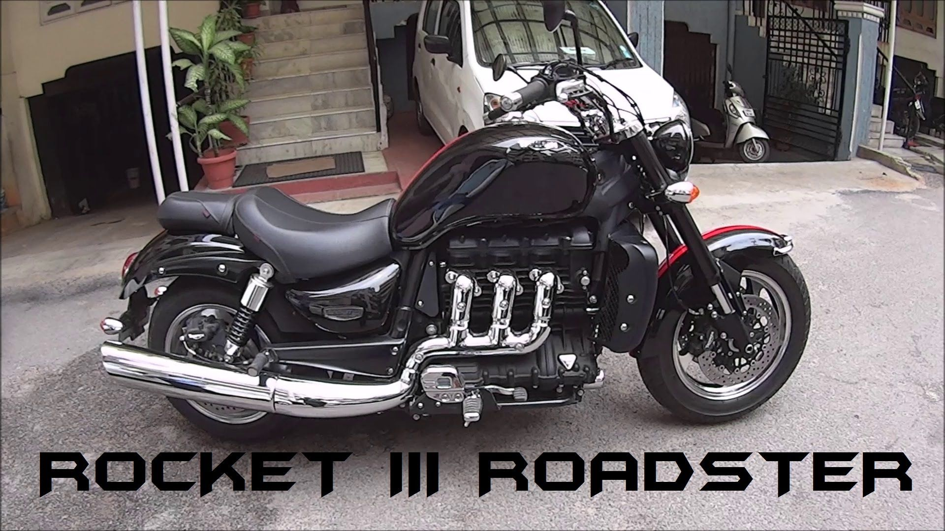 2016 triumph rocket iii roadster stock exhaust note. Black Bedroom Furniture Sets. Home Design Ideas