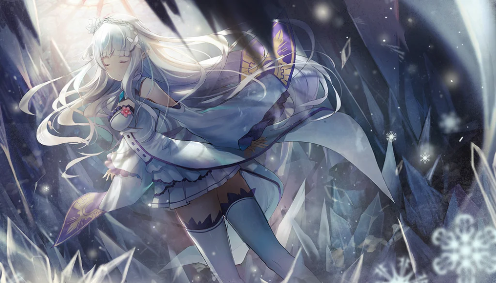 [Media] Emilia Re_Zero rezero anime animeart