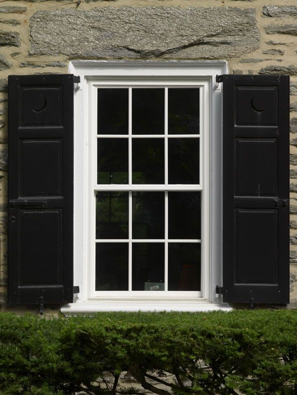 A View Of Our Energy Efficient Replacement Windows On This Beautiful Stone House Windows Replacement Window Styles Stone House