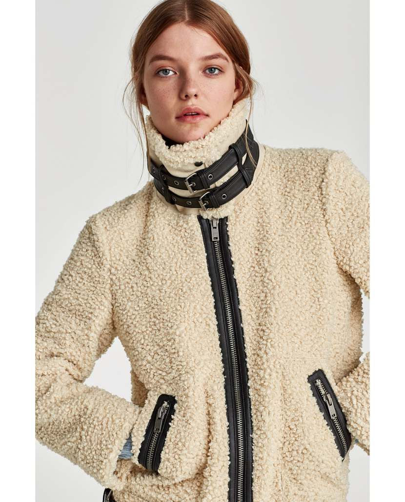 STYLECASTER Teddy Bear Coats for the Winter Zara