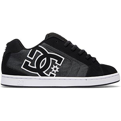 DC Shoes Net Se, Zapatillas para Hombre, Negro (Black Destroy Wash), 42 EU
