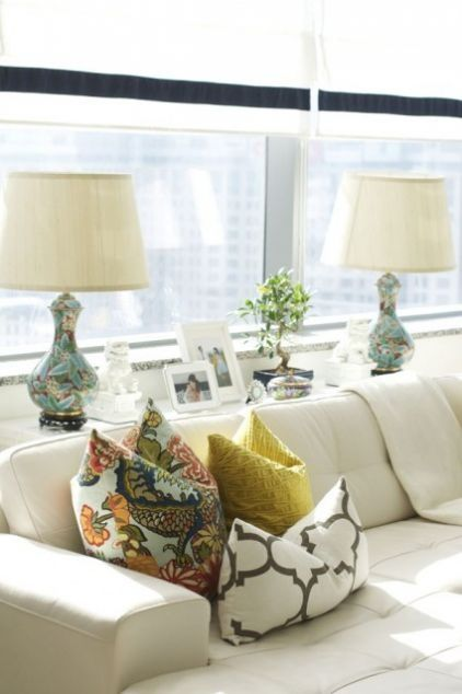 Throw Pillow Options Console Table Behind Sofa Table Behind