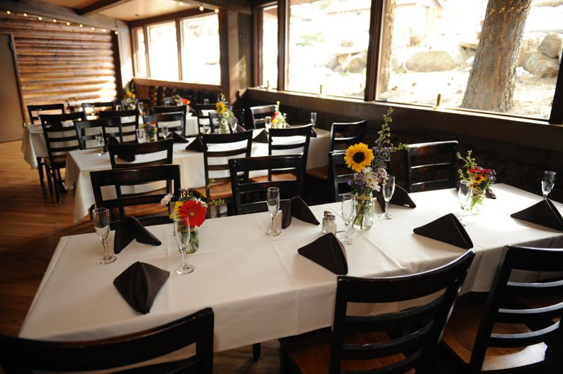 Steak House Casual Dining Weddings Special Events Estes Park
