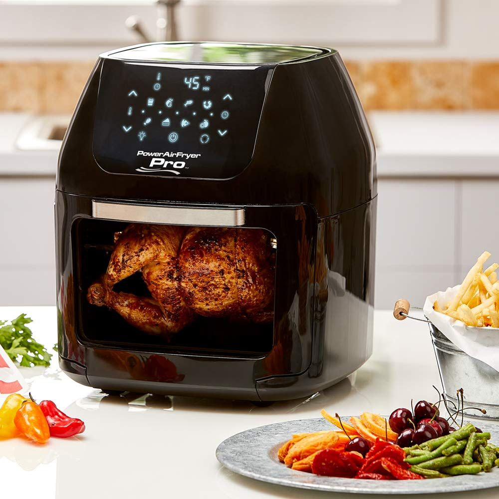 Powerxl Air Fryer Pro 6 Qt In 2020 Rotisserie Air Fryer Cooking