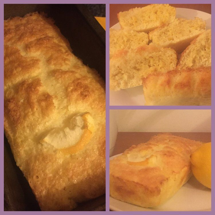 Low Syn Lemon Drizzle Cake