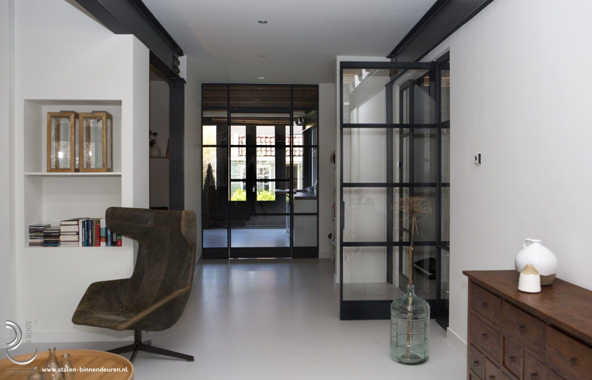 Steel door with panel in Weesp- Steel door with panel in Weesp …