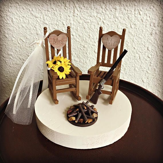 Surprising Rustic Wedding Cake Toppers Wedding Cake Topper Cabin Gamerscity Chair Design For Home Gamerscityorg