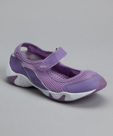 Take a look at this Purple Mary Jane by RocSoc on #zulily today!