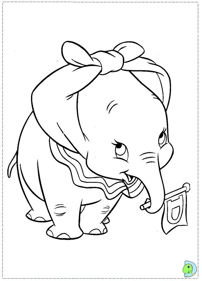 Disney Dumbo Coloring Pages Bing Images In 2020 With Images