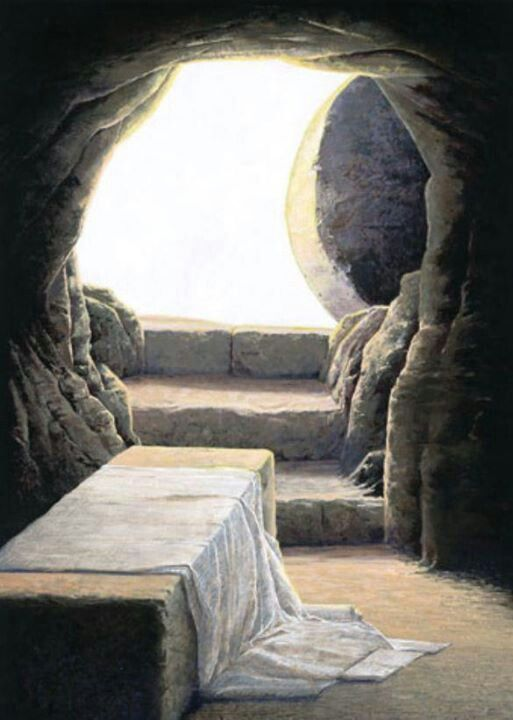 Attractive The Empty Tomb Of Jesus.
