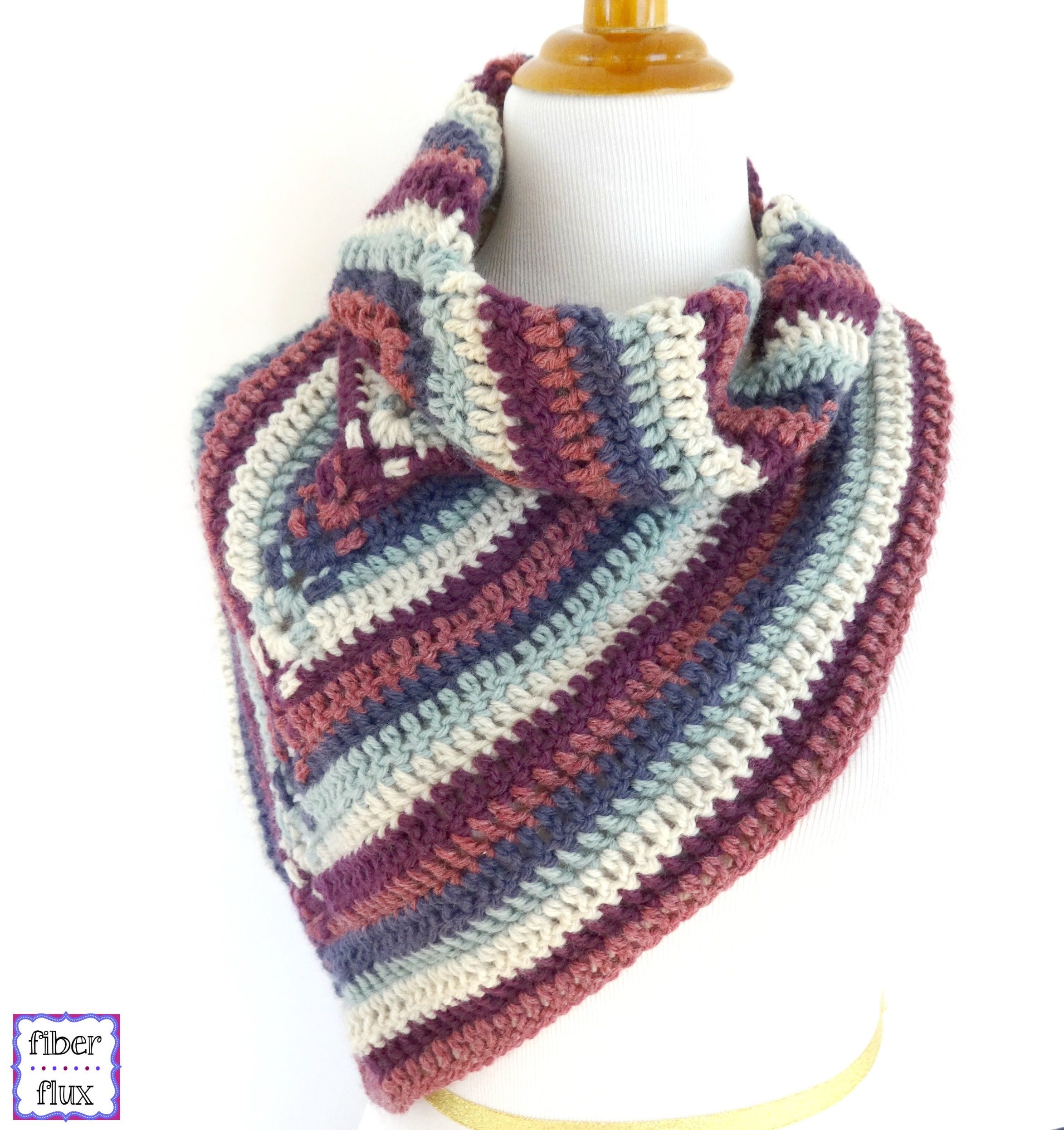Episode 186: How To Crochet the Alpine View Wrap | Manualidades ...