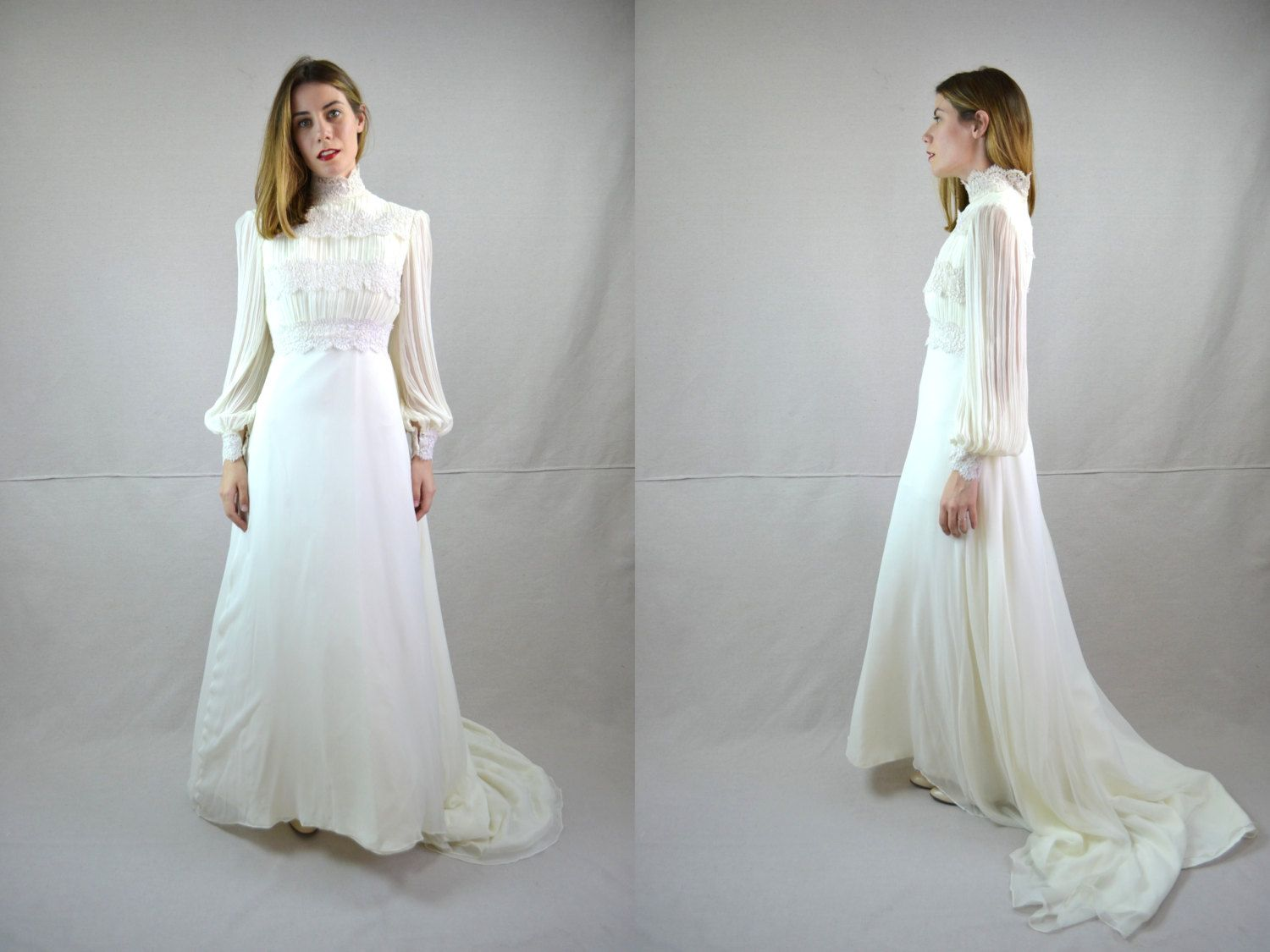 Vintage 1970's wedding dress for when Helena marries