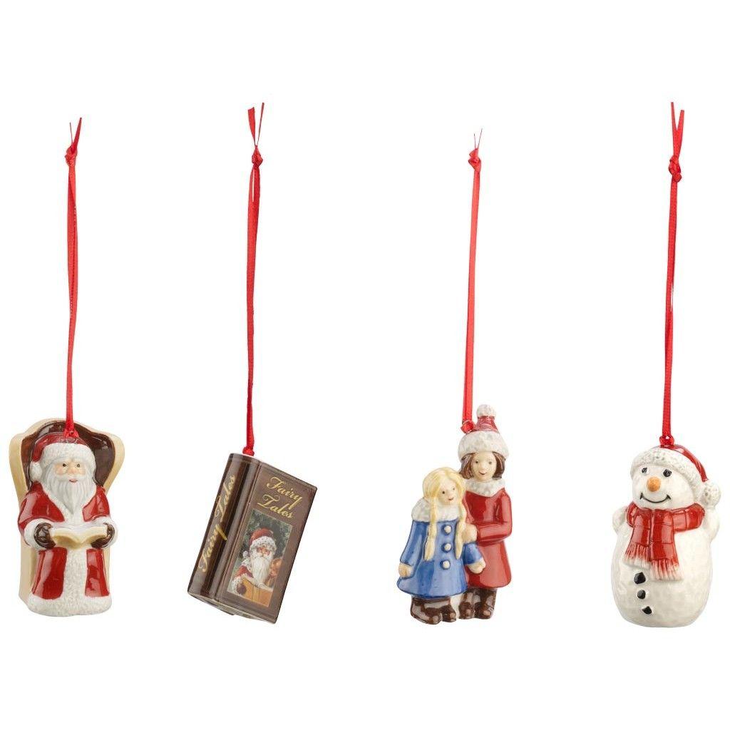Nostalgic Ornaments Ornamenti Parco di favole, set 4 pz 6cm