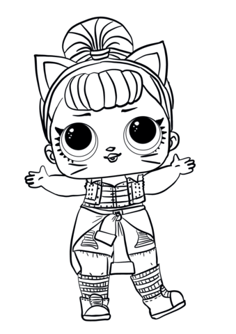 Lol Surprise Doll Troublemaker Coloring Page Juliana L Hernandez