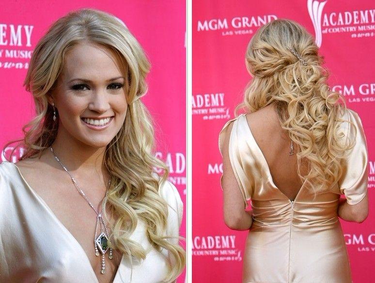 Pleasant 1000 Images About Bridesmaids Half Up Half Down Hair Styles On Short Hairstyles Gunalazisus