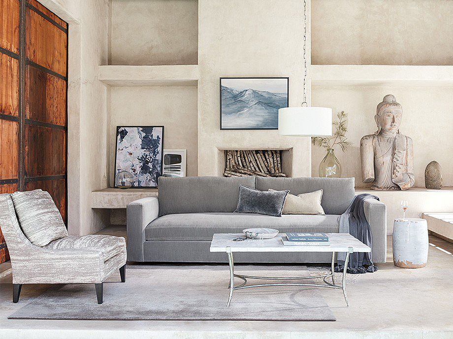 Miles Sofa Arhaus Furniture Chic Yet Durable Enough For The Whole Family Our Sophisticated Miles Coll Living Room Sets Furniture Furniture Arhaus Furniture