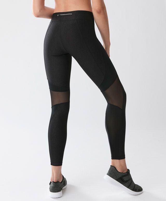dd2b37a76180c1 Legging imprimé serpent - Leggings - Tendances printemps été 2017 en mode  femme chez OYSHO online : lingerie, vêtements de sport, pyjamas, bain, ...