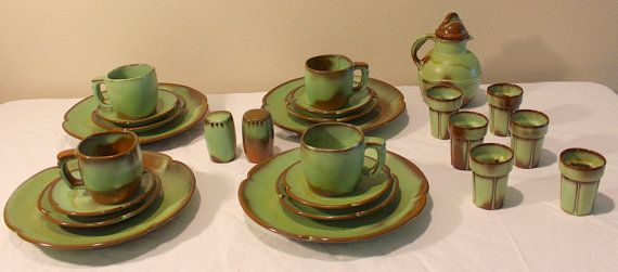 1960s-frankoma-pottery-prairie & 1960s-frankoma-pottery-prairie   House Stuff   Pinterest   Pottery ...