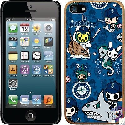 $28.00: Seattle Mariners iPhone 5-5S Madera Thinshield Case (Tokidoki Pattern Design)