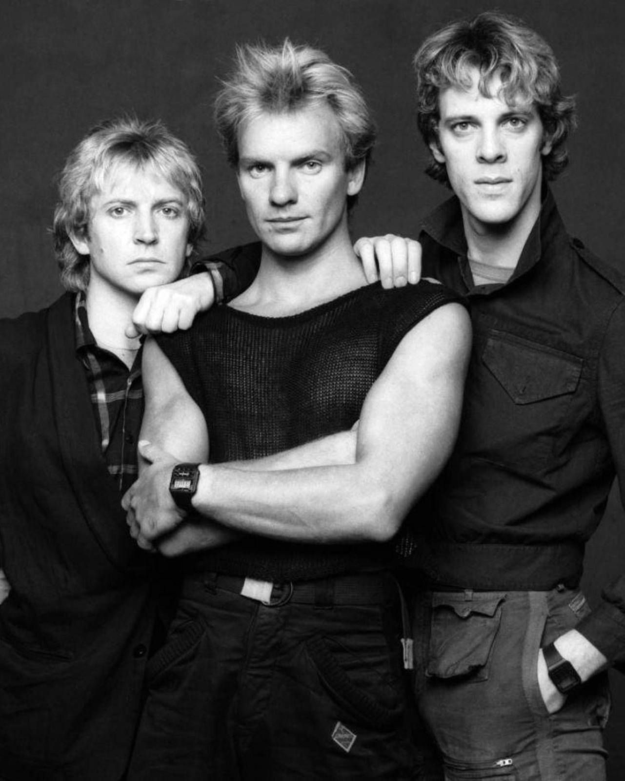 THE POLICE- HQ 8x10 B/W PHOTO#1 | The police band, Rock bands ...