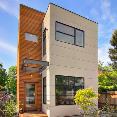 modelos de casas modernas baratas villas Pinterest House