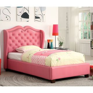 Humble Haute Prescott Twin Size Pink Floral Upholstered