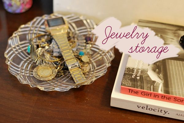 12 Beautiful Ways To Store Your Jewelry #organizing #display #jewelry