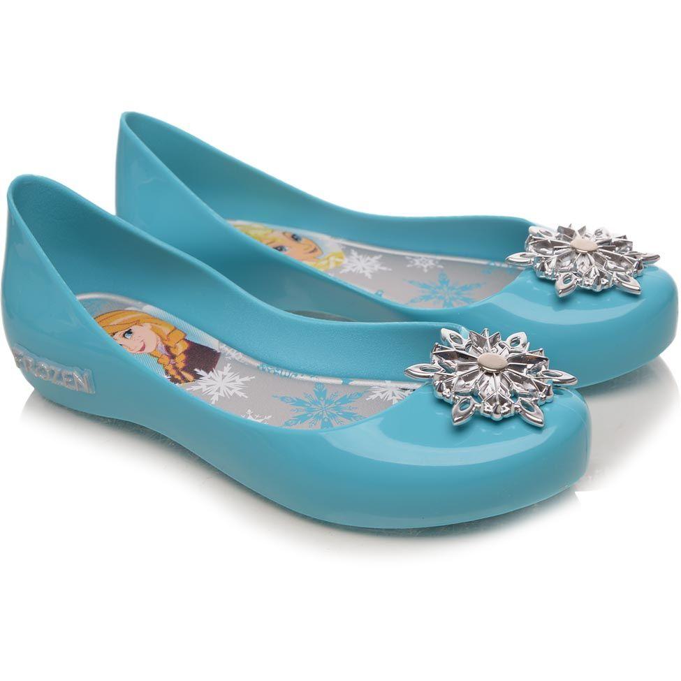 e8a596a70e Sapatilha Infantil Grendene Kids Disney Shine Azul Lisa Frozen ...