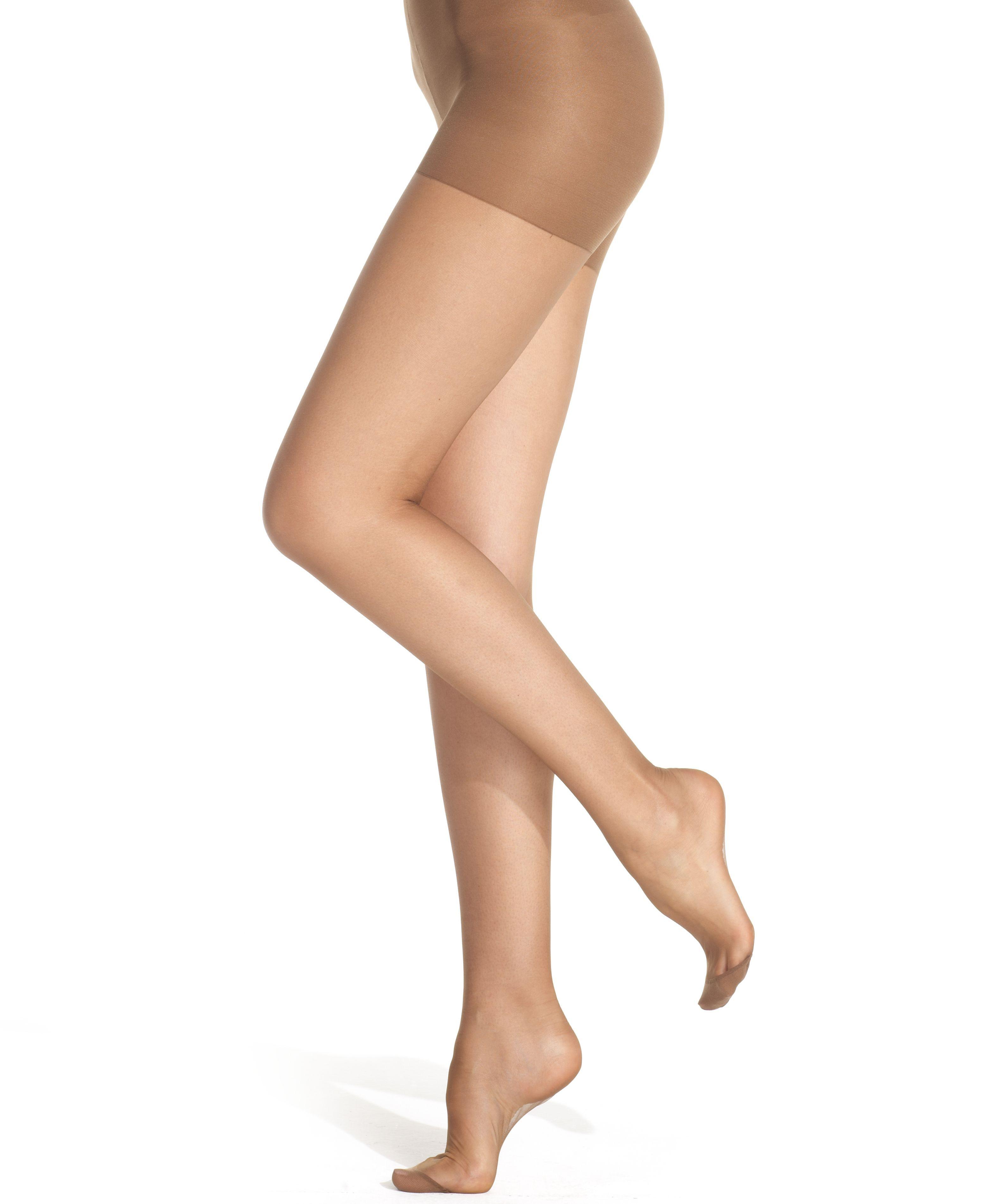 e03f2640b Women s Ultra Sheer Control Top with Reinforced Toe Hosiery 4419 in ...