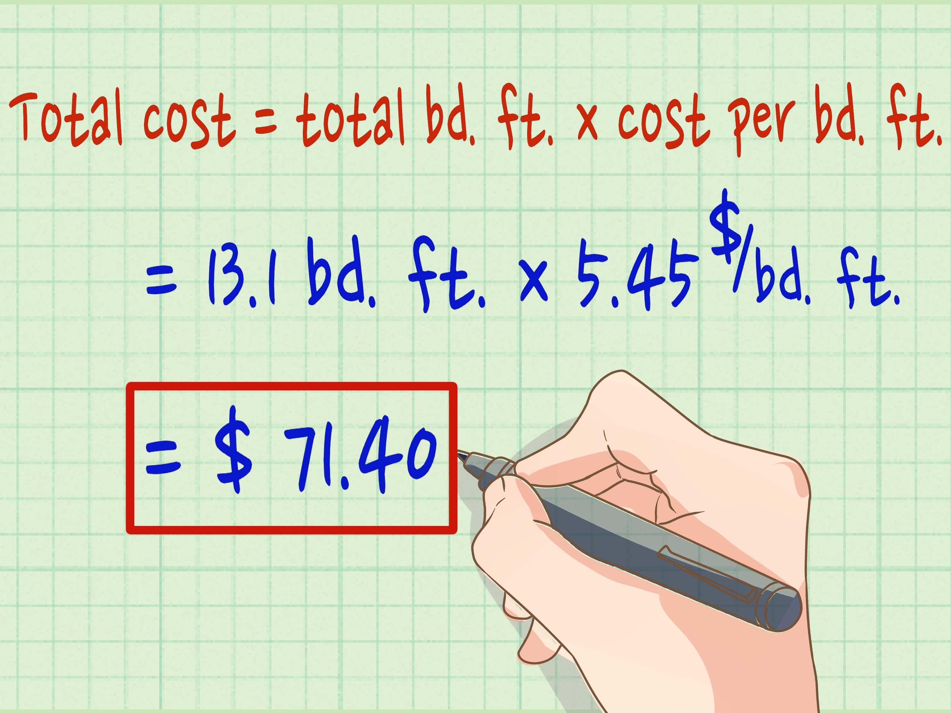 How to Calculate Board Feet  Calculator, Feet, Boards