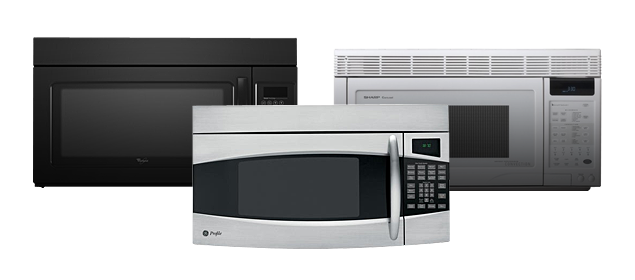 Over The Range Microwave Review 2017 Best Built In Microwaves Toptenreviews