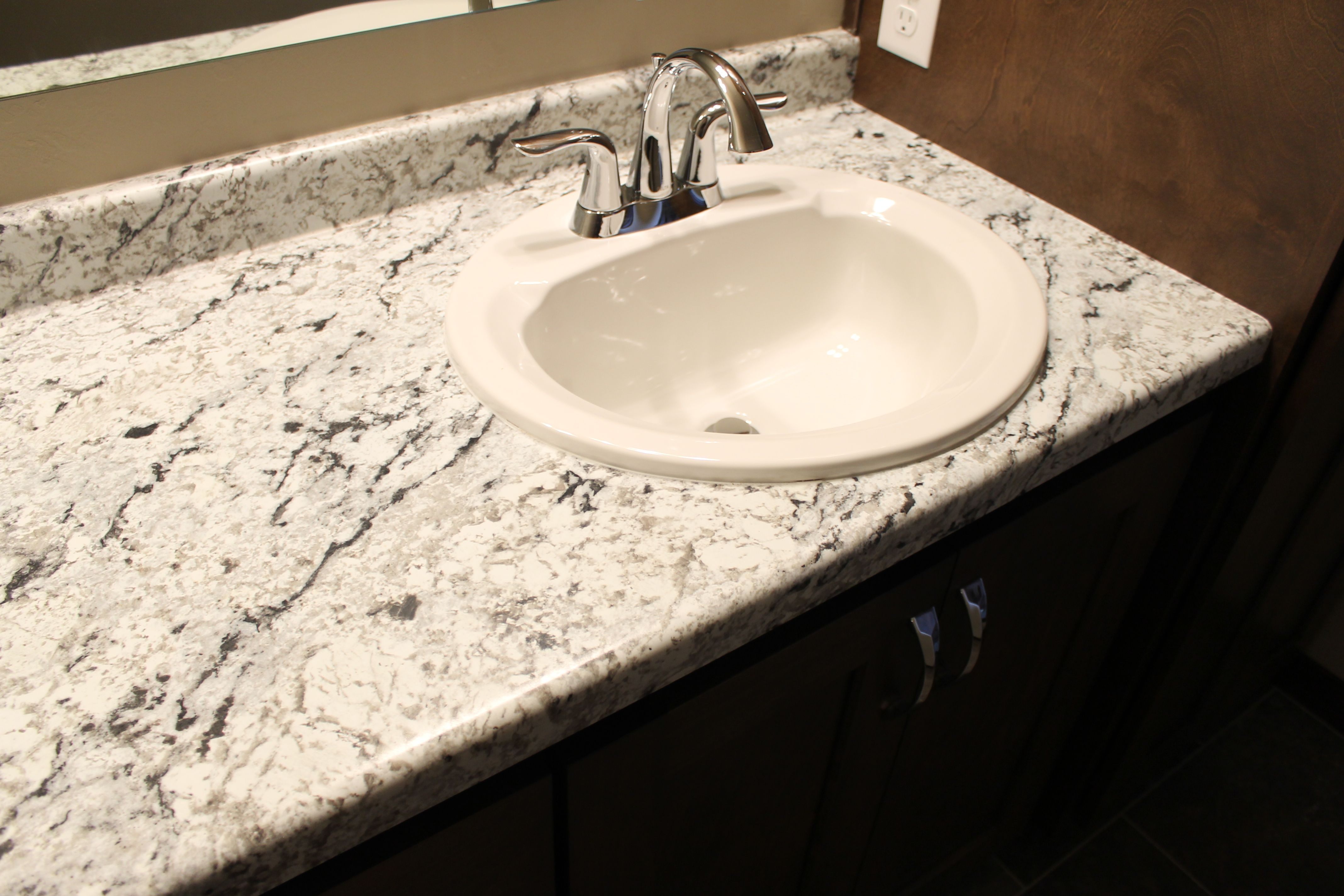Outstanding Image Result For Formica White Ice Granite Bathroom Interior Design Ideas Tzicisoteloinfo