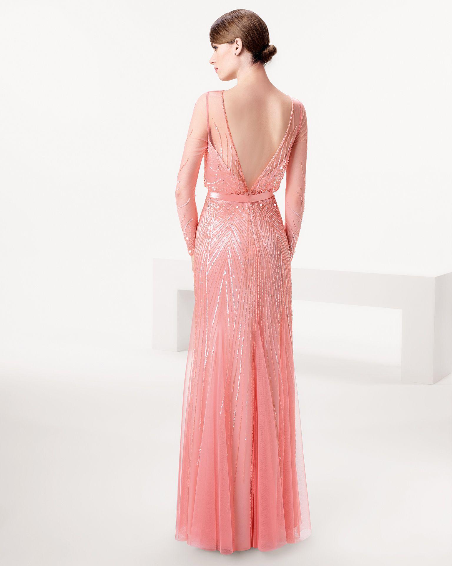 Vestido de fiesta Aire Barcelona largo | Gowns | Pinterest | Coral ...