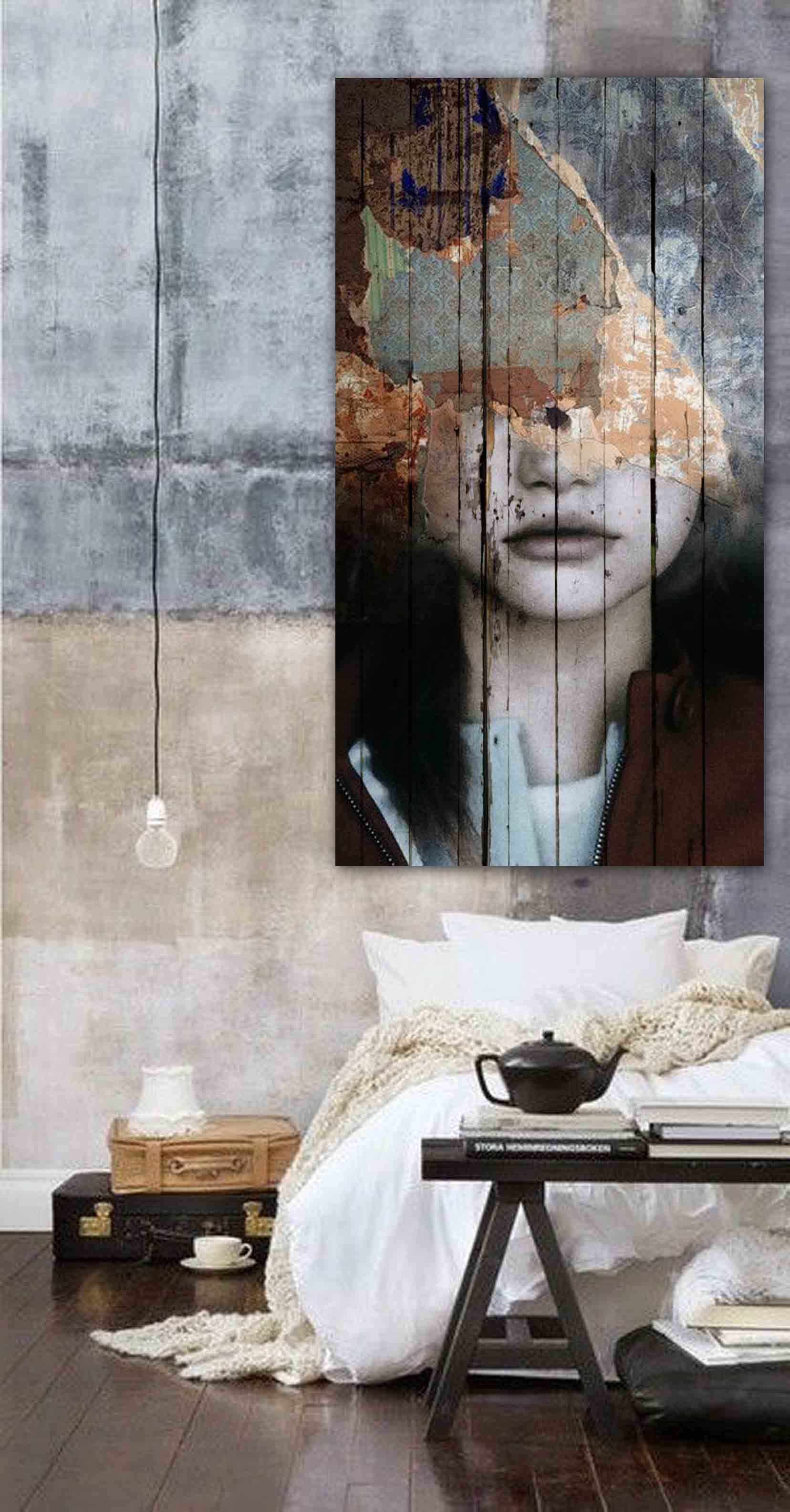 Art overhead bedroom pinterest artwork scene and decoration