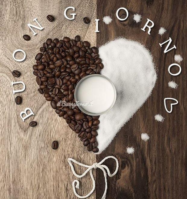 Latte Zucchero E Caffè Un Dolce Risveglio Un Dolce Buongiorno