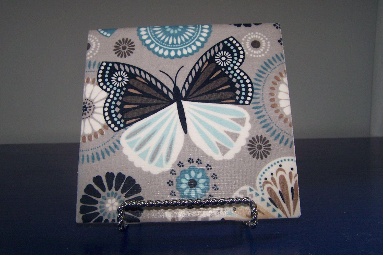 Decorative Ceramic Tiles Kitchen Butterfly Decoration Ceramic Tile Art Butterfly Lover Gift