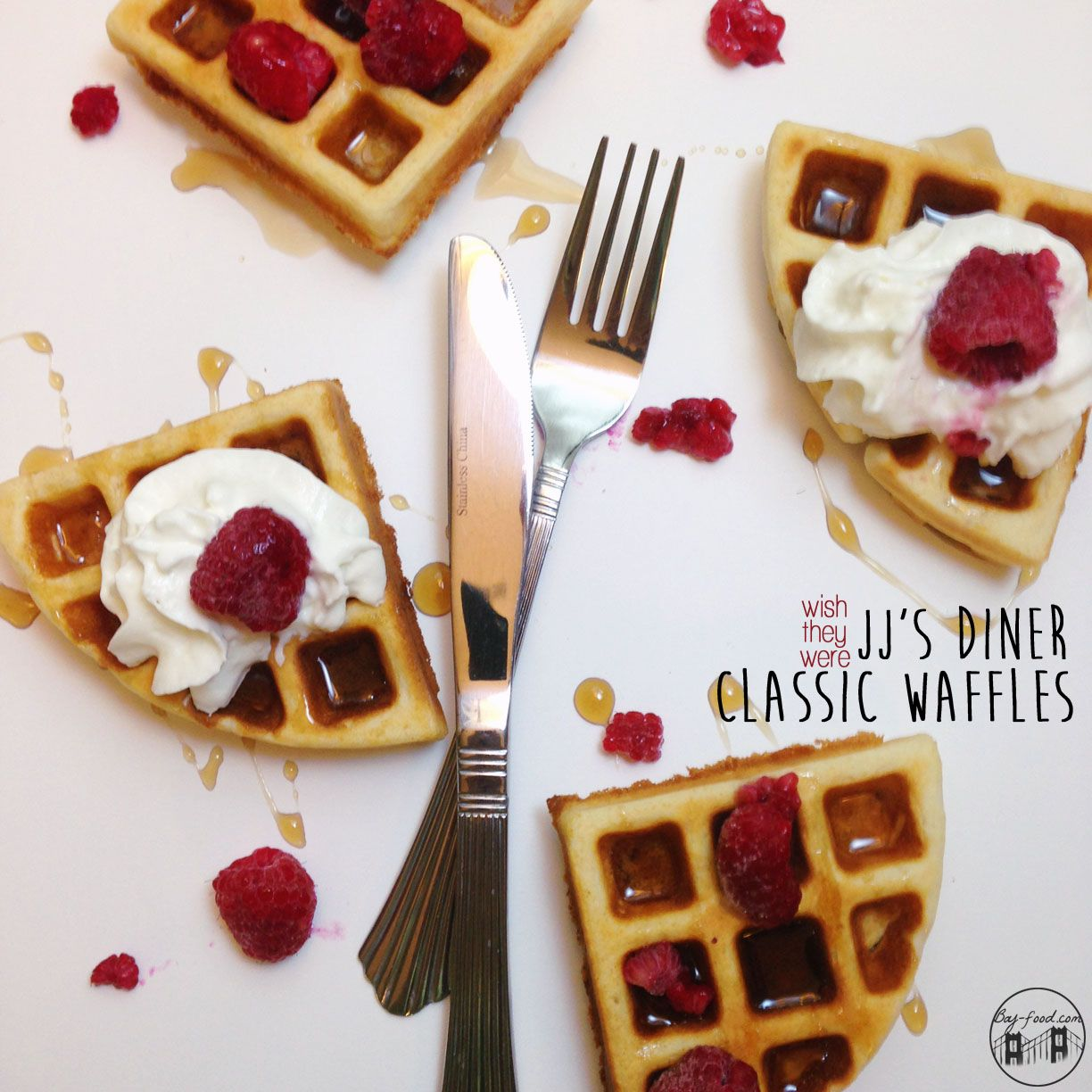 """No #ParksandRec #ParksFarewell party is complete w/o JJ's Diner #Waffles! - """"There ain't no party like a Leslie Knope party, 'cause a Leslie Knope party is actually 30 parties."""""""