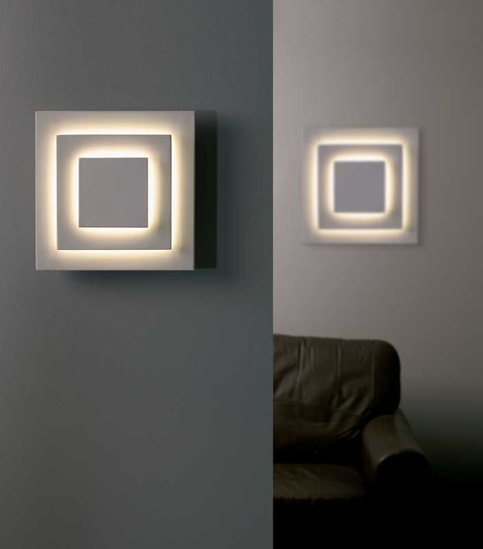 High Quality Modern Decorative Lighting National Ceiling: Squared Wall Lights Uk