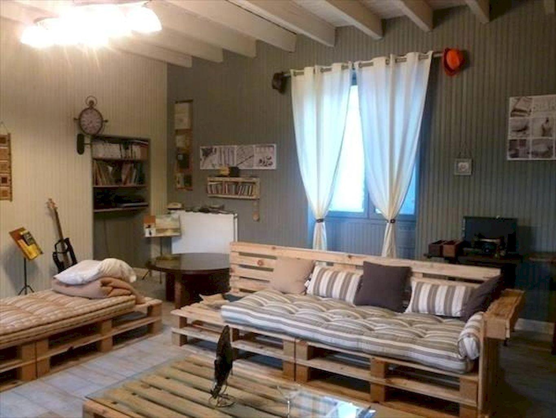 55 Diy Pallet Project Home Decor Ideas Insidexterior Pallet Furniture Living Room Diy Living Room Decor Pallet Furniture