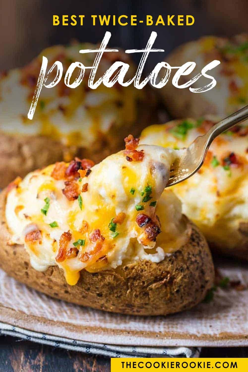 Pin By Aimee Like Mother Like Daught On Appetizers In 2020 Best Twice Baked Potatoes Baked Potato Recipes Twice Baked Potatoes