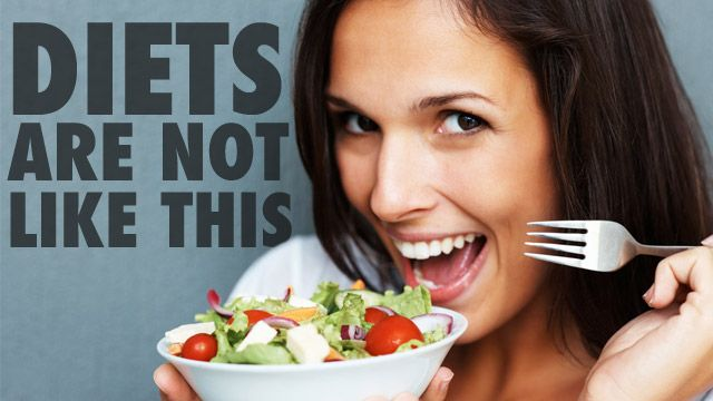 Good advice on making over your eating habits and avoiding the pitfalls of dieting.