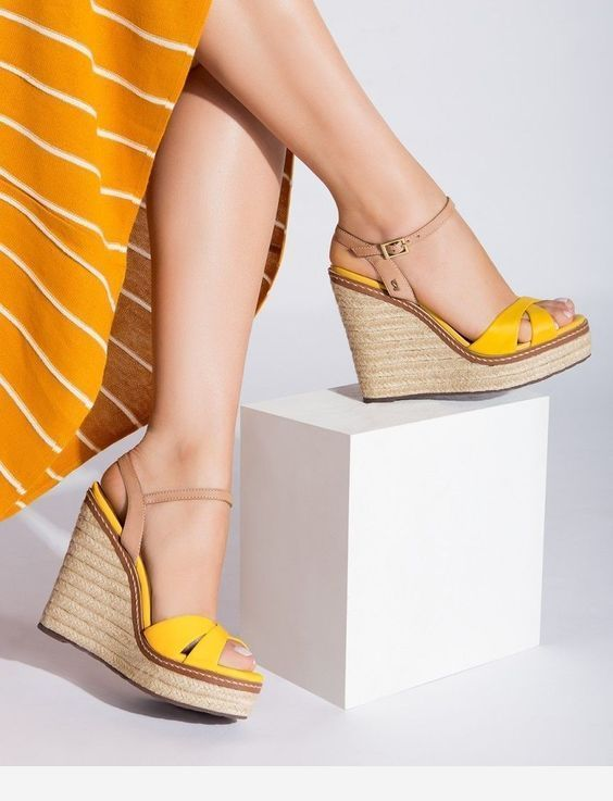60 Summer Wedges Sandals To Look Cool