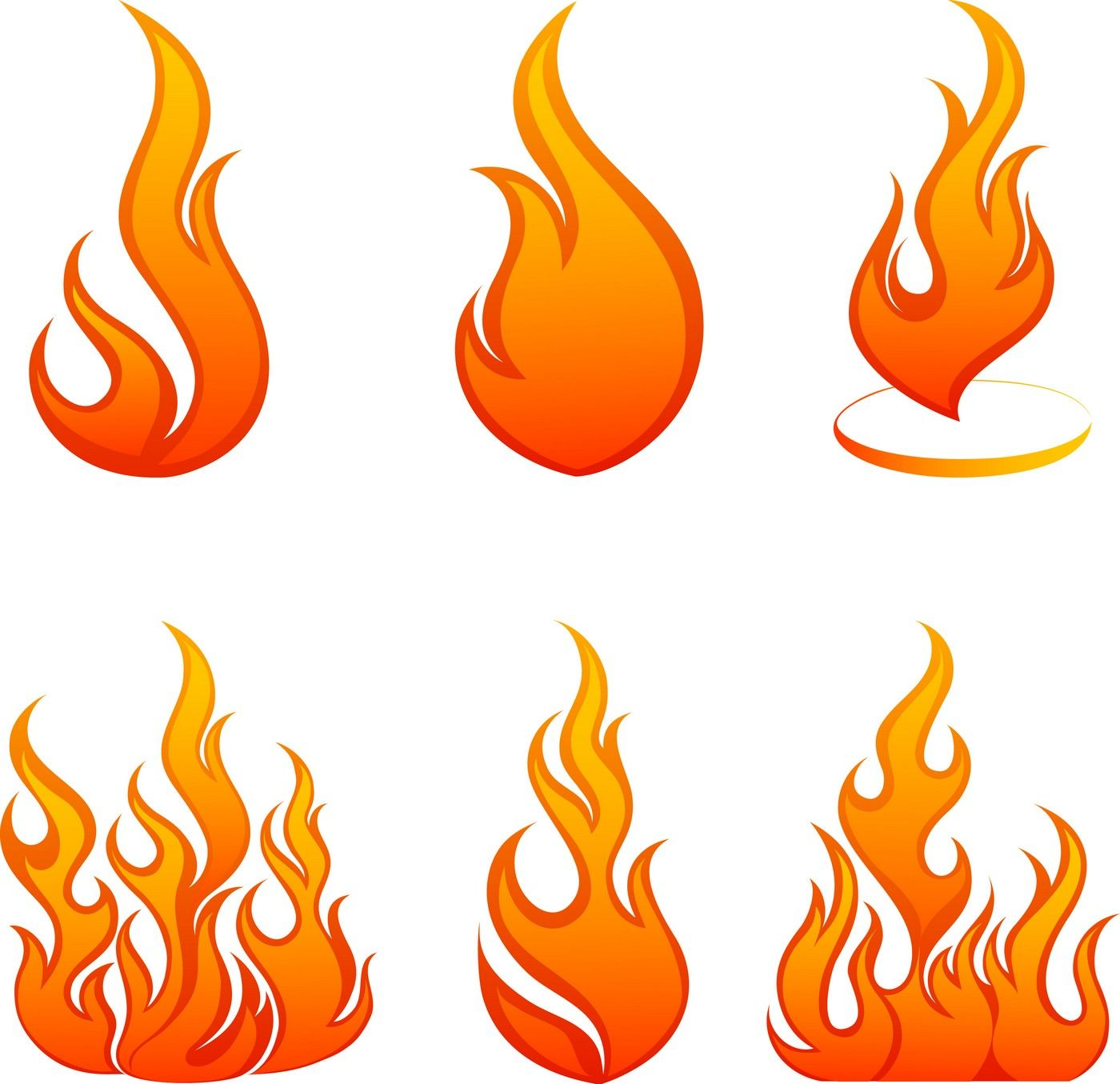 Flame, Fire 01 Vector EPS Free Download, Logo, Icons