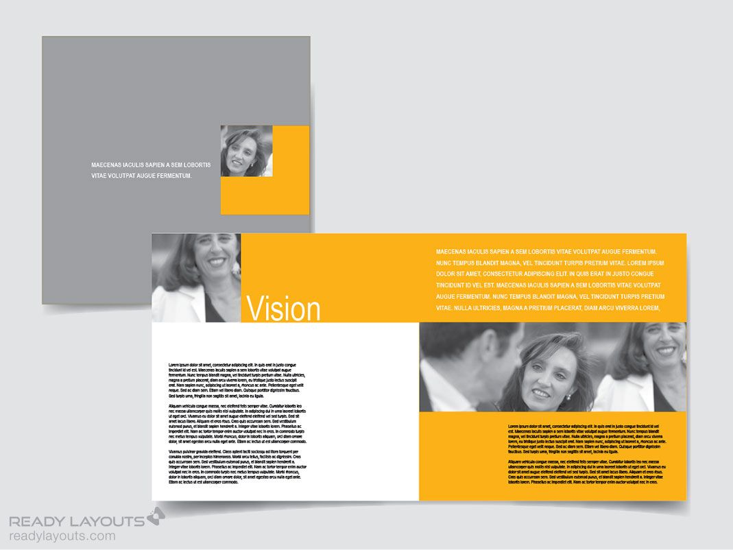 Brochure Template  Cerca Con Google  Grafica Lavoro