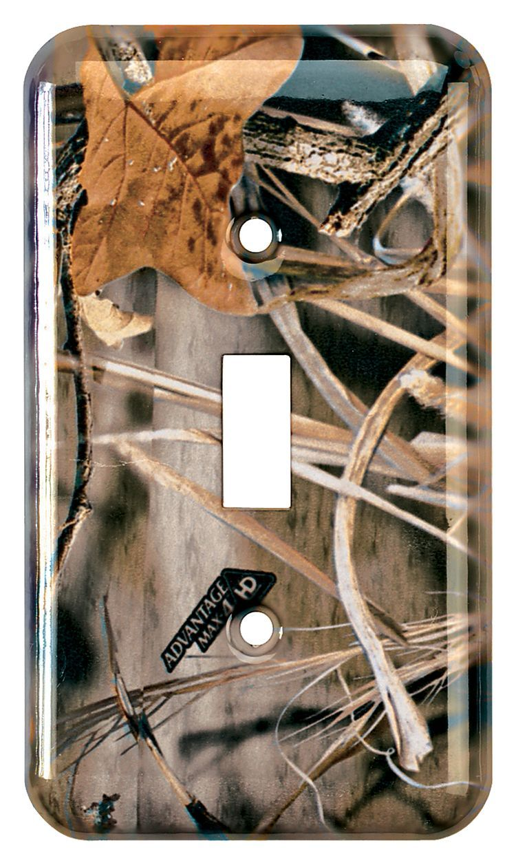 Bass Pro Shops® Realtree MAX-4® Single Switch Plate | Bass ...