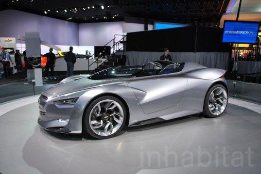 Chevrolet Mi Ray Concept Chevy Detroit Auto Show Chevrolet