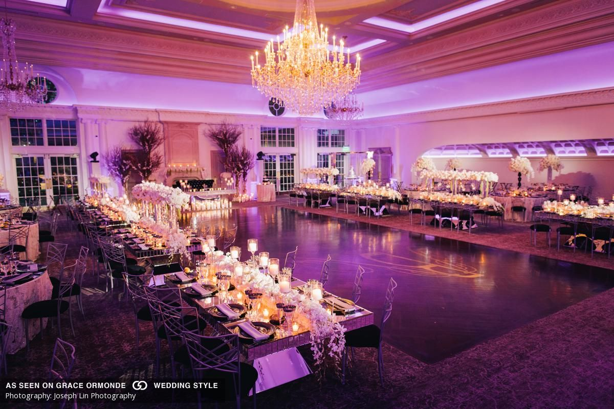 A candlelit wedding at Park Chateau Estate in East Brunswick, NJ ...